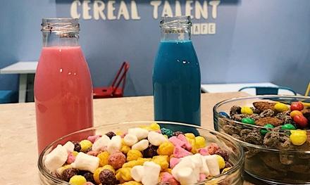 Menú para 2 o 4 personas de cereal, toppings o siropes y leche desde 3,95 € en Cereal Talent Cafe