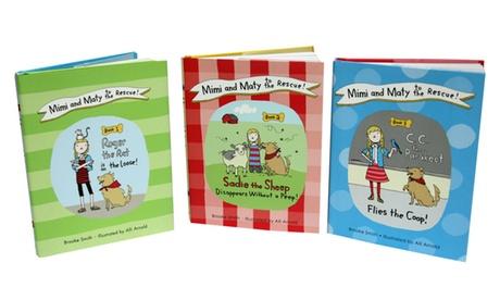 Mimi and Maty to the Rescue Book Bundle (3-Pack) 8acf028e-253e-11e7-895f-00259060b5da