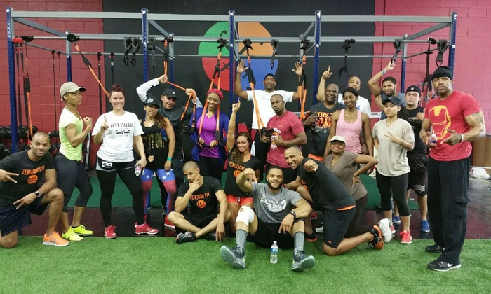 Ace Your Waist Fitness - Highlands Park: Four Weeks of Unlimited Circuit Training Classes at Ace Your Waist Fitness