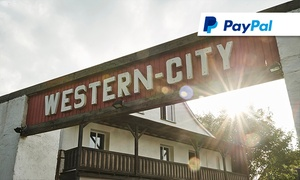 Fred Rai Western City: Tageskarte, opt. mit Pommes frites und Softdrink, für Zwei oder Vier für die Fred Rai Western City (bis zu 52% sparen*)