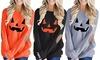 Halloween Damen-Top