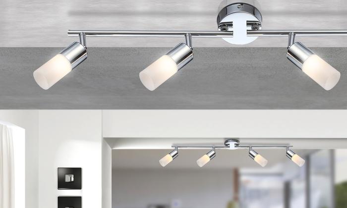 globo led deckenlampe spots groupon goods. Black Bedroom Furniture Sets. Home Design Ideas