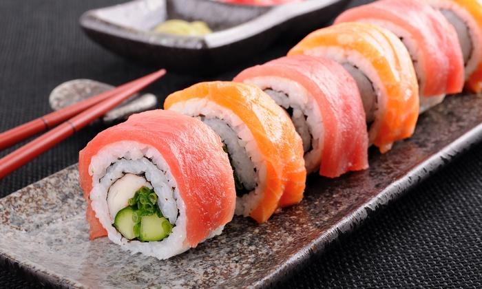 Hana Saki: Japanese Hibachi Restaurant - Springfield: Japanese Food for Dinner at Hana Saki: Japanese Hibachi Restaurant (Half Off). Two Options Available.