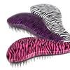Detangler Brush with Zebra Design