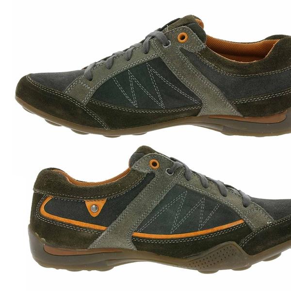 ROSS & COLE Herren Ledersneaker in Braun oder Schwarz