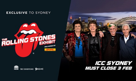 The Rolling Stones Exhibit: Tickets from $32.50, Until 3 February at ICC Sydney Exhibition Centre