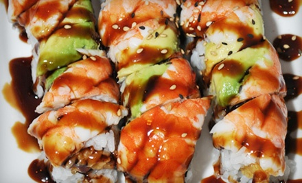 $10 for $20 Worth of Sushi and Asian Cuisine for Lunch at Spicy Tuna Sushi Bar & Grill