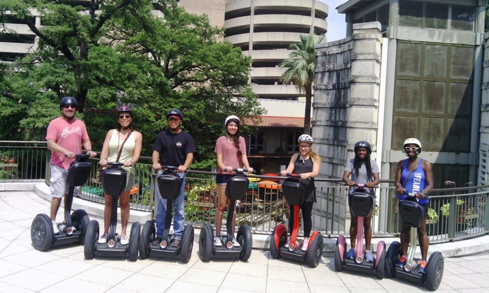 SegCity - San Antonio - Downtown: Ride It, Wild Bunch, or Holiday Lights Tour for 1, 2, or 4 from SegCity San Antonio (Up to 51% Off)