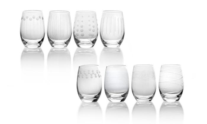 Mikasa Cheers Stemless Wineglasses (8-Pack): Mikasa Cheers Stemless Wineglasses (8-Pack)