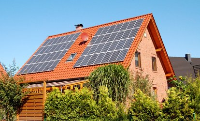 image for $15 Off $25 Worth of Solar Panel Installation