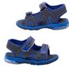 Rugged Bear Toddler Boys' Light-Up Sandals (Size 11)