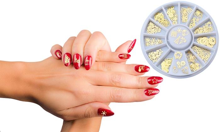 Decorazioni per unghie natalizie groupon goods for Decorazioni natalizie unghie