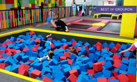 Open Jump for 2, Bounce Party for 10, or 10 or 20 Fitness Classes at Xtreme Trampoline Park (Up to 46% Off)