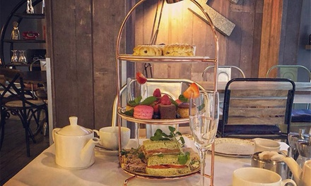 4* Novotel Afternoon Tea and Glass or Bottomless Prosecco for Two at Novotel Manchester Centre