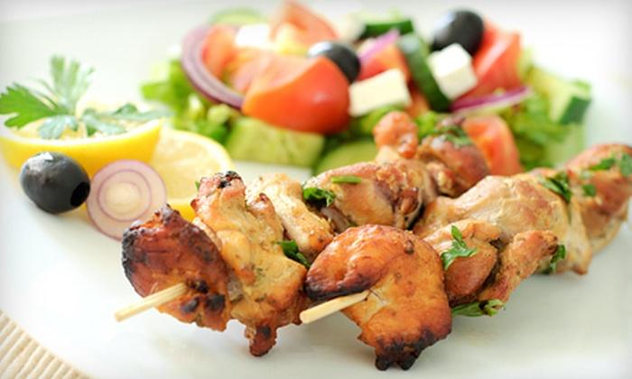 Garden Cafe - Las Vegas: $12 for $25 Worth of Mediterranean Food at Garden Cafe