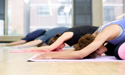 5 Yoga Classes or One Month of Unlimited Classes at Go Inside Yoga Studio (Up to Half Off)