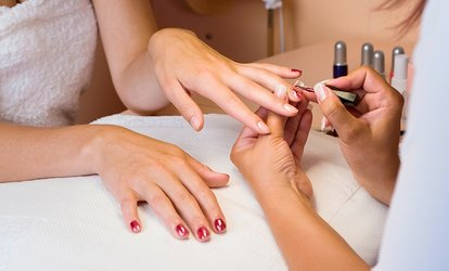 image for Express Shellac Manicure and Pedicure at Viauty