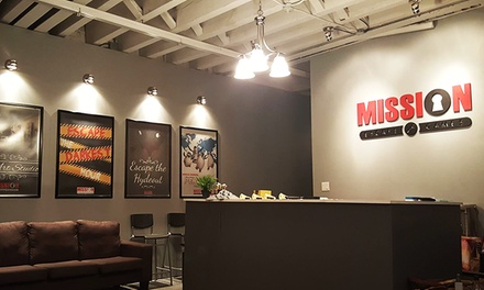 Escape Room for One or Two at Mission Escape Games (21% Off) - 2018 ...