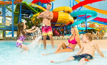 image for Admission for One or Two People at Fallsview Indoor Waterpark (Up to 41% Off)