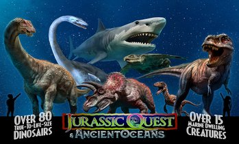 Jurassic Quest Dinosaur Experience – Up to 22% Off