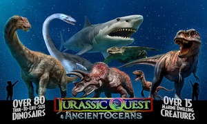 Jurassic Quest Dinosaur Experience – Up to 23% Off at Jurassic Quest Dinosaur Experience, plus Up to 6.0% Cash Back from Ebates.
