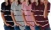 T-shirt femme motif tie and dye Fabshopper, coloris et taille au choix