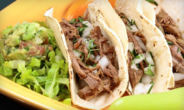 Los Tres Vaqueros - Southwest Raleigh: Mexican Cuisine on a Weekday or Weekend at Los Tres Vaqueros (Half Off)