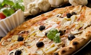 La Braceria di Romano: Pizza a scelta tra 40 gusti, dolce e birra artigianale per 2 o 4 persone a La Braceria di Romano (sconto fino a 56%)