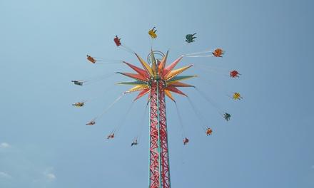 1 entrée adulte ou enfant du 26 août au 29 septembre à 23,10 € au Parc Walibi Rhône Alpes