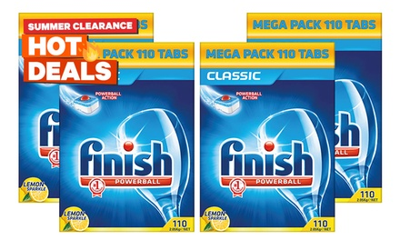 $67.95 for 440 Tablets of Finish Classic Powerball Lemon Sparkle (Don't Pay $147.80)