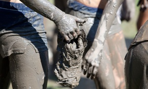 Tackle The Tar: Entry for One or Two to the Tackle the Tar 5K Obstacle Race on May 14 (35% Off)