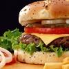 Menu hamburger con dolce e birra