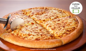 Pizza Hut - Praia Grande: Pizza Hut - Praia Grande: 1 pizza pan grande