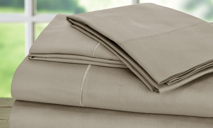100 egyptian cotton 1000tc baratta hem sheet set 4piece - 100 Egyptian Cotton Sheets
