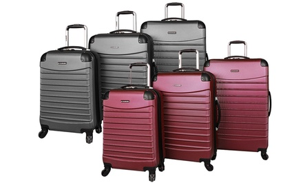 Ciao Voyager Hard-Side Spinner Luggage Set (3-Piece)