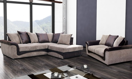 Hula Fabric Corner Scatter Sofa With Storage Footstool From 499 With Free Delivery 58 Off
