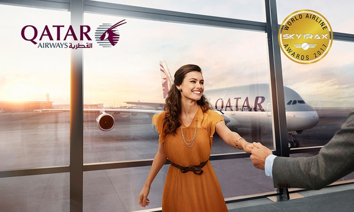 Qatar Airways: Pay $3 or $5 to Get Up to 15%* Off on Flights with Qatar Airways