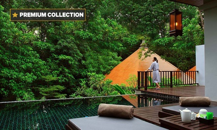 Phuket, Thailand : 3- or 5N Luxury Stay for 2 with Brekky, Massage, Transfers & Dinner at 5* Villa Zolitude Resort & Spa