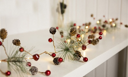 20LED BatteryPowered Christmas String Lights in a Choice of Design: One $16, Two $26 or Three $36