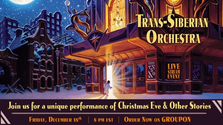 Trans-Siberian Orchestra: Livestream Event on Friday, December 18, at 8 p.m. EST + 15 Song Album Download!