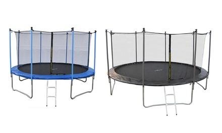 jump4fun trampolin f r au en in gr e und farbe der wahl bis zu sparen deutschland deals. Black Bedroom Furniture Sets. Home Design Ideas