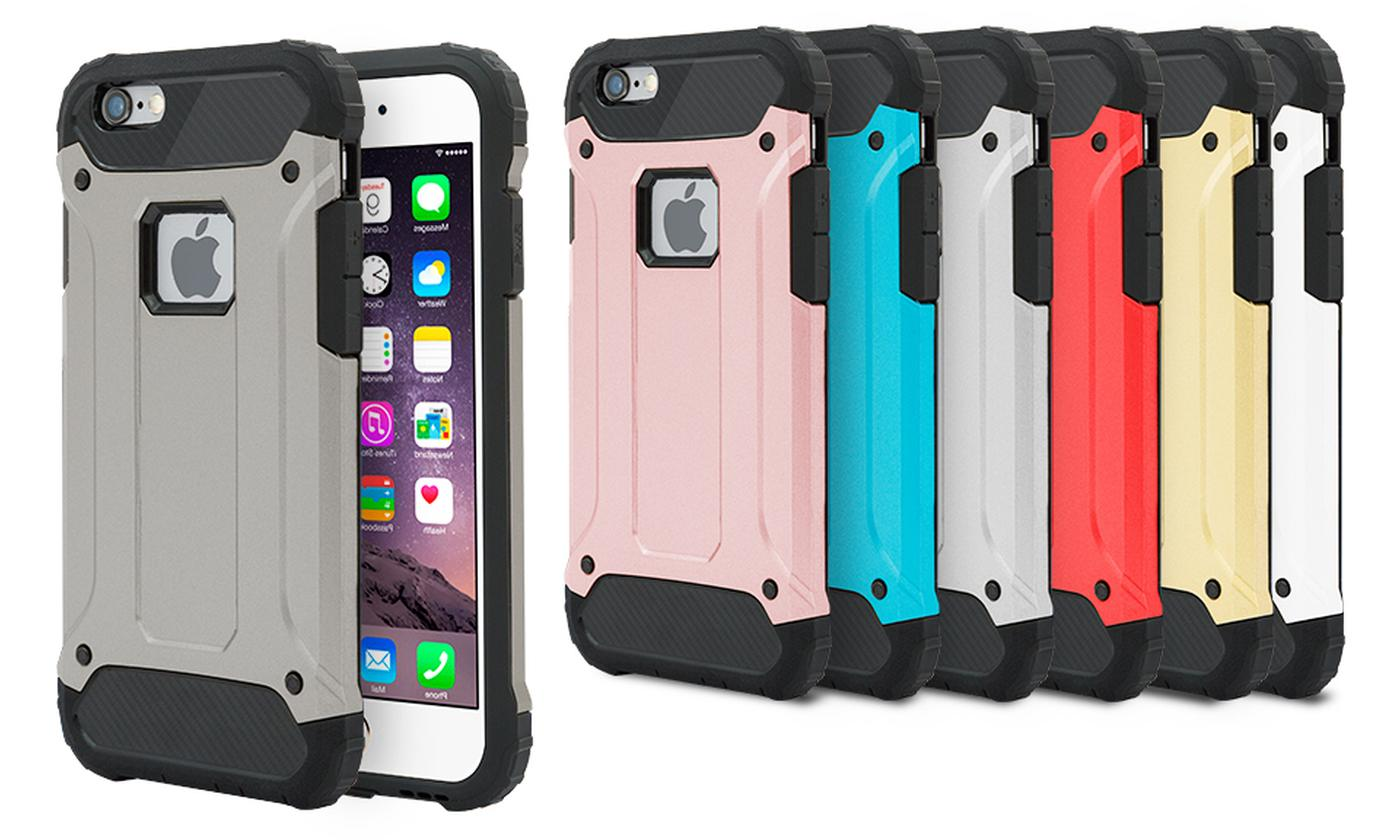 Rugged Armour Case for iPhone 6 or 6S, 6+ or 6S+, 7 and 7+
