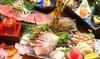 スペインもち豚のステーキと海鮮豪華絢爛コース(飲み放題付)
