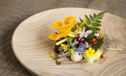 Menu gastronomique 5 services au restaurant 3* du guide Michelin Hertog Jan