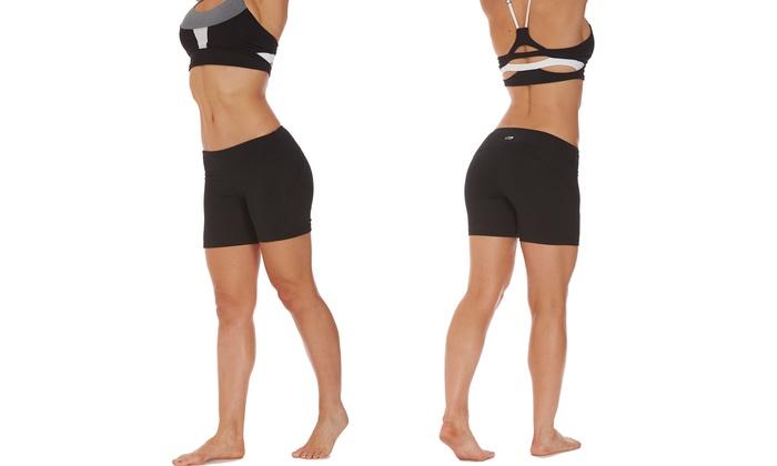 Marika Women's Curved-Seam Power Shorts (2-Pack)