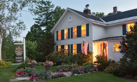 groupon daily deal - 1- or 2-Night Stay for Two at The Inn at Weston in Vermont