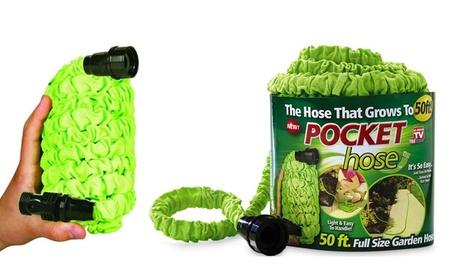 50-ft. Pocket Hose Garden Hose c06c5ff0-67d7-11e7-81aa-00259069d7cc