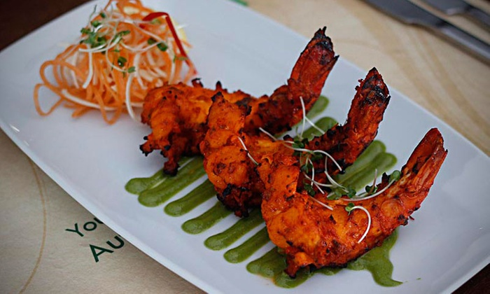 Shri Bheema's Indian Restaurant - Multiple Locations: Two-Course Lunch or Five-Course Indian Buffet for Two at Shri Bheema's Indian Restaurant, Six Locations (Up to 54% Off)