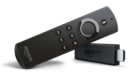 Amazon Fire TV Streaming Stick with Alexa Voice Remote