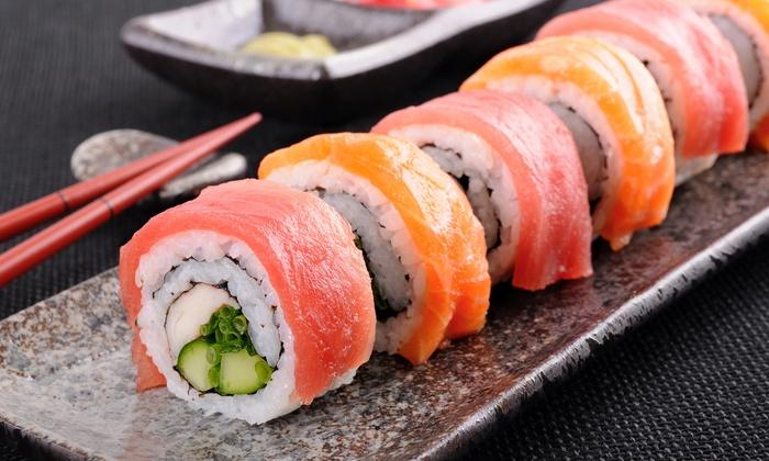 Ichiban Hibachi Steakhouse & Sushi Bar - Pine: Sushi and Japanese Food at Ichiban Hibachi Steakhouse & Sushi Bar (Half Off). Two Options Available.